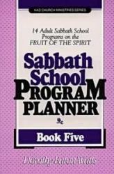 Sabbath School Program Planner, Book 5